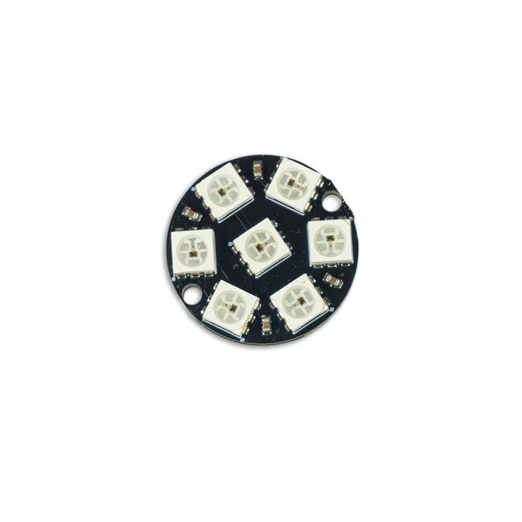 7-Bit WS2812 5050 RGB LED-Ring