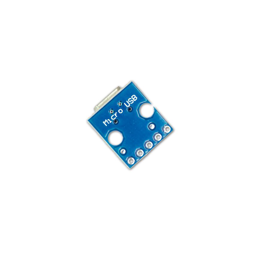 Micro USB DIP Netzteil Adapter - 5V MicroUSB Breakout Board