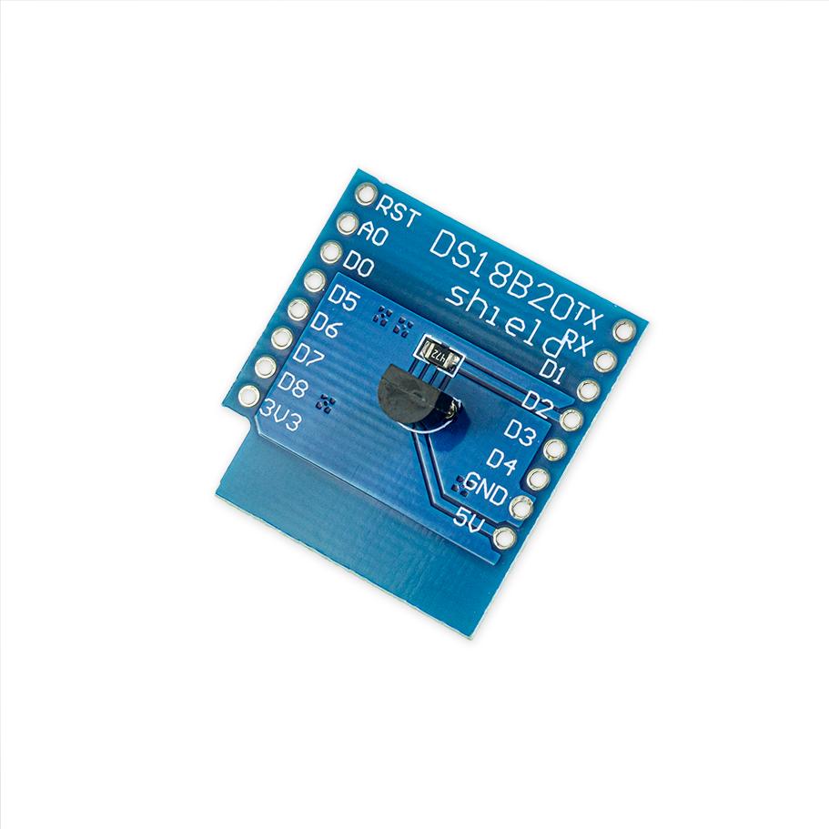DS18B20 Shield für D1 Mini - Temperatur - Sensor