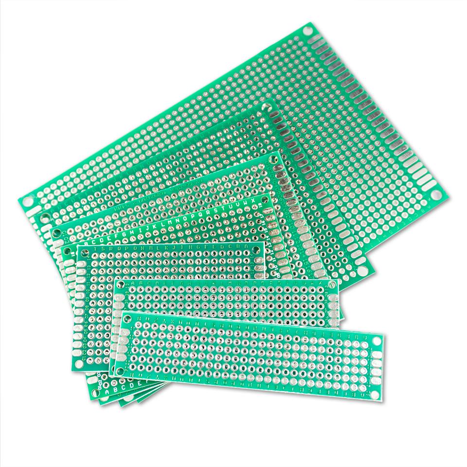 Platinen-Set - PCB - 7 verschiedene Größen - Doppelseitig - für PCB Prototypen